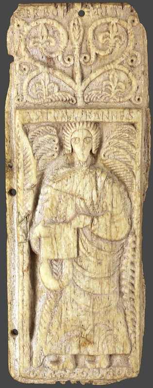 50 Иоанн Богослов  Испания.  VIII в. местонахождение Франция. Лион. Музей изобразительных искусств. резьба по кости