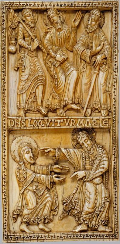 71 Евангельские сцены. Диптих. Испания. Кастилия и Леон.  XII в.