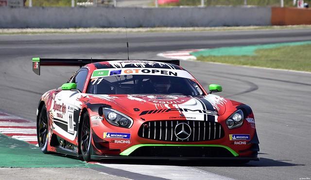 Mercedes AMG GT3 / Janine Hill / GBR / John Shoffner / USA / GetSpeed Performance