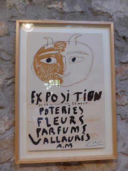 affiche Picasso Vallauris