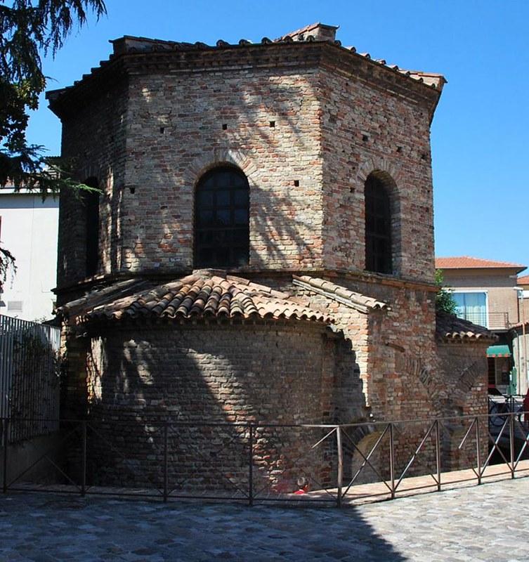 14 Арианский Баптистерий VI в.