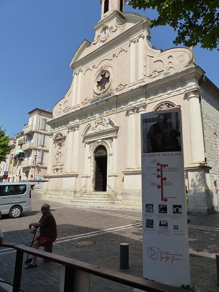l'église de Vallauris