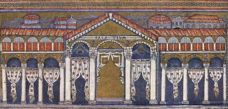 24 Дворец Теодориха в Равенне. Сан Аполлинаре Нуово. Равенна 6 в.