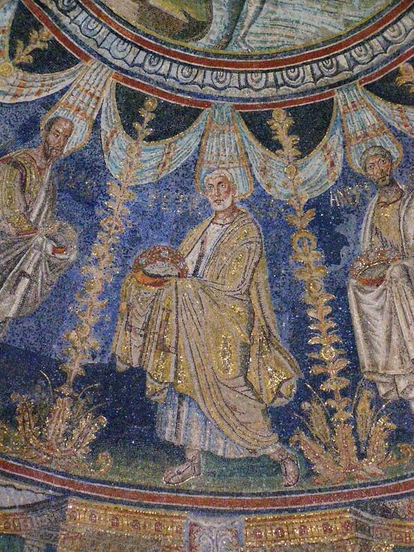 30 Баптистерий православных. Ап. Петр Мозаика.