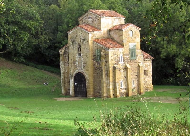 56 Сан-Мигель-де-Лильо ок. Овьедо. 842 г. Астурия