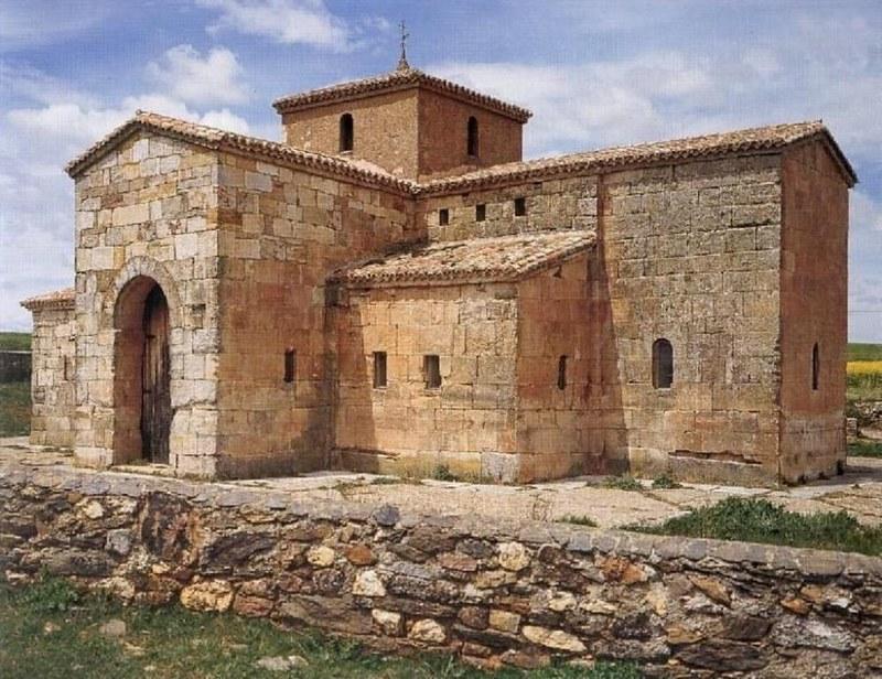 51 Церковь Сан-Педро де-ла-Наве VIII в. провинция Сарагоса. Испания.