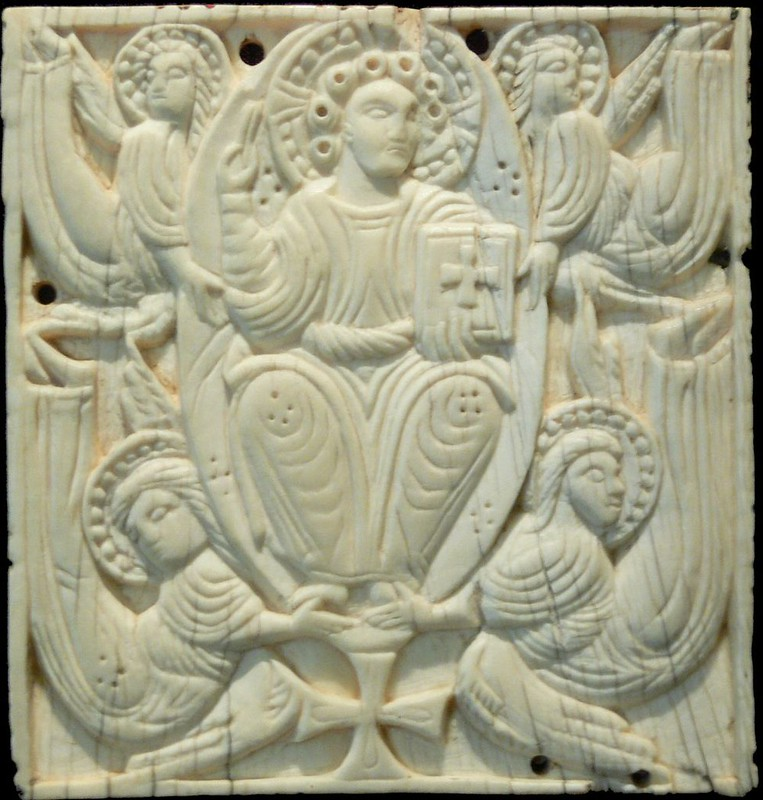 84 Вознесение Господне.Англосаксонская Британия. VIII в.