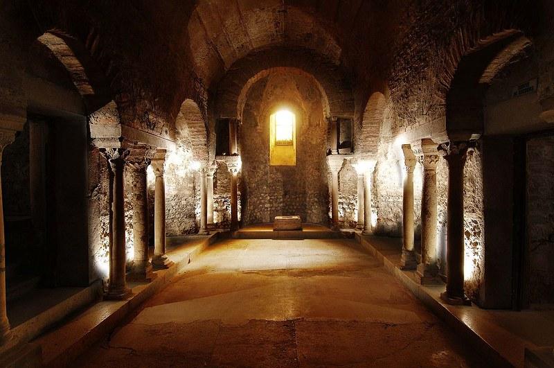 81 Крипта Сен-Лоран в Гренобле VII-VIII вв