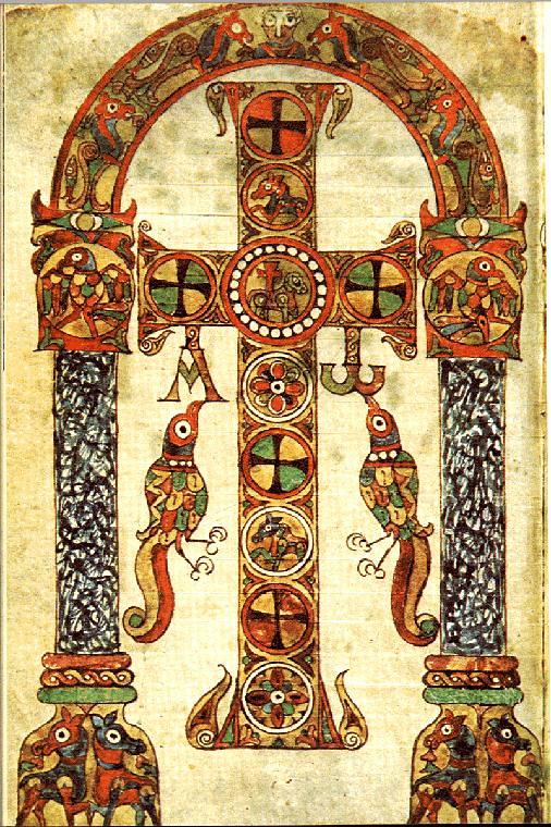 80 Иллюминированный Сакраментарий Геласия, VIII в