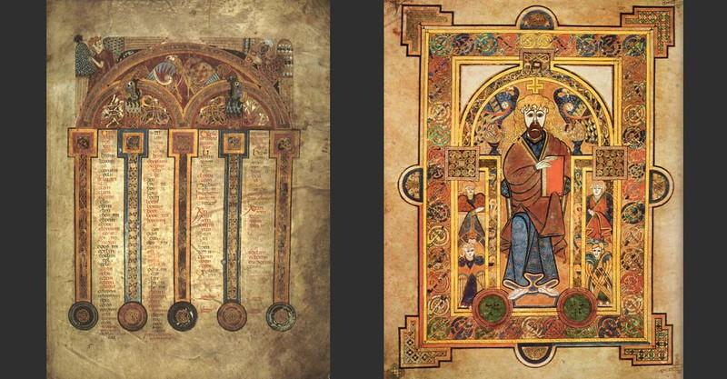 91 Келлская книга (Четвероевангелие) ок. 800 г.