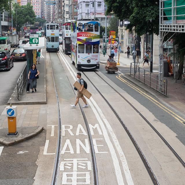 Tram Line, Hong Kong