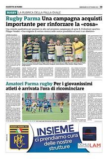 Gazzetta di Parma 25.09.19 - pag 39