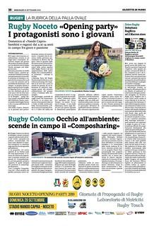 Gazzetta di Parma 25.09.19 - pag 38