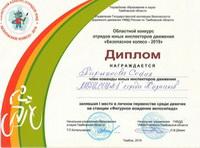 """""""Безопасное колесо-2019"""" - областной этап"""