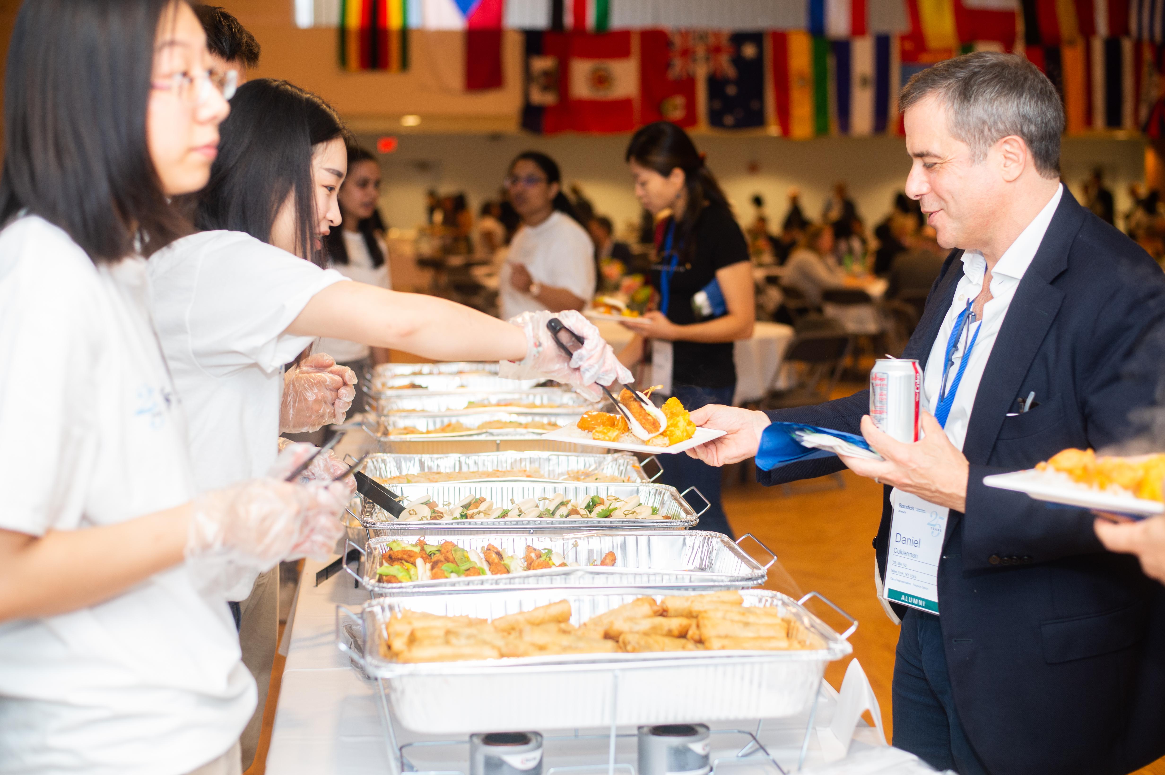 Reunion Weekend: International Food Lunch and Kids' Activities
