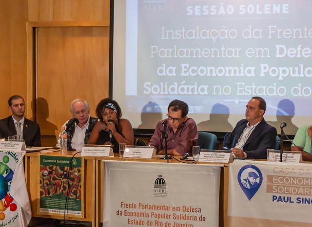 [25.03.2019] Frente Parlamentar Economia Solidaria