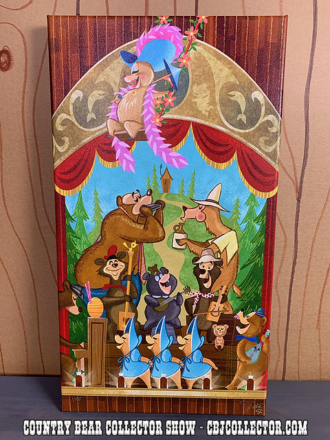 2019 Country Bear Jamboree Canvas by Sam Carter - Country Bear Collector Show #226