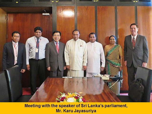 Sri Lanka-2015-12-11-UPF Meets With Sri Lankan President