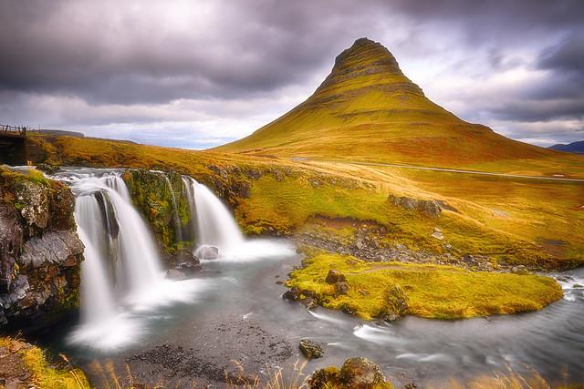Kirkjufell Iceland at Autumn Equinox 2019