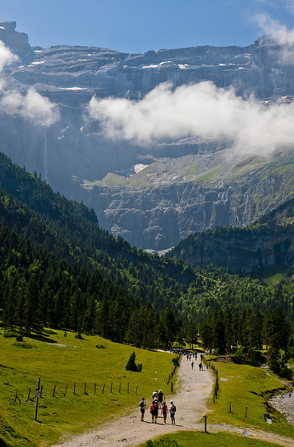El camí de Gavarnia / Gavarnie clear path