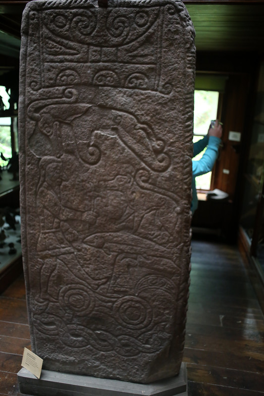 Pictish stone, Dunrobin Castle