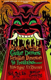 Halloween Demon Rock Mayhem!