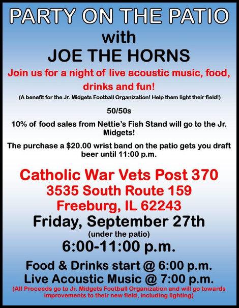 Joe The Horns 9-27-19