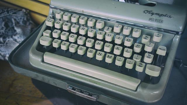 Just another typewriter on Main Street...