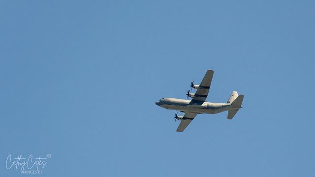 C-130J Hercules flyover Adelaide