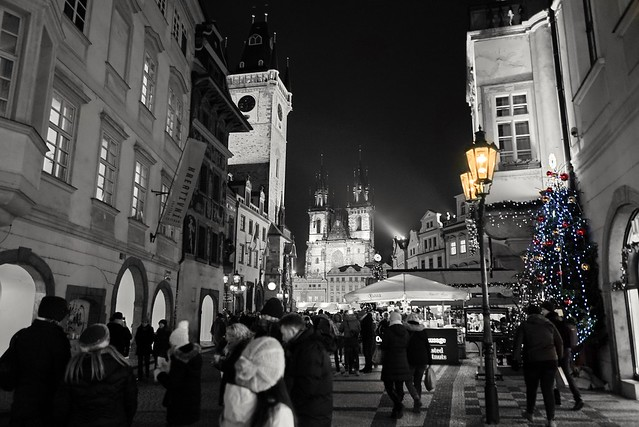 Prague in Christmas feeling