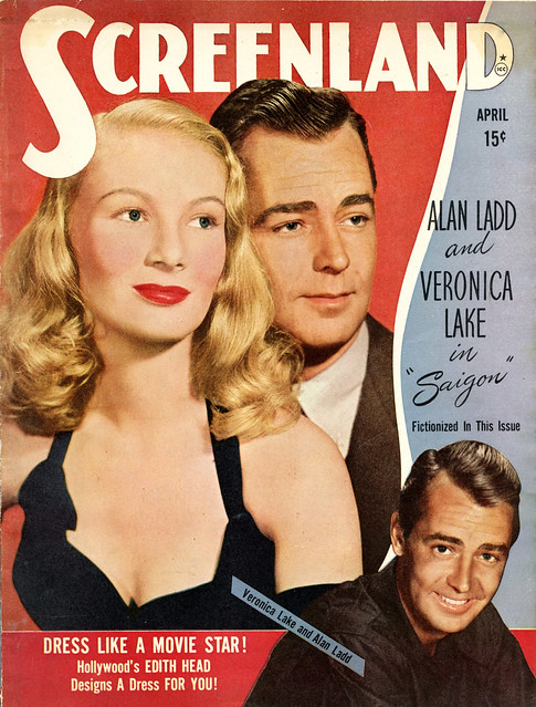 Veronica Lake, Alan Ladd - April 1948