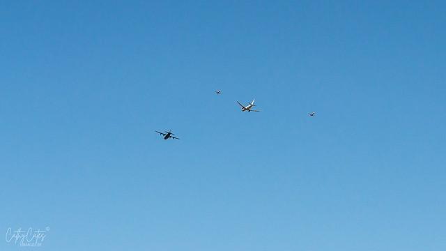 RAAF Flyover Adelaide Suburbs