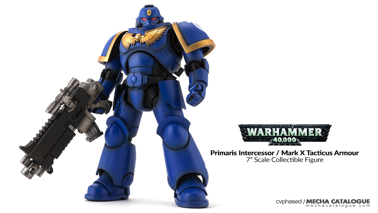"Why 7-Inch Scale? Bandai ""Warhammer 40,000"" Primaris Intercessor / Mark X Tacticus Armour"