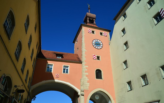 Regensburg - Brückturm