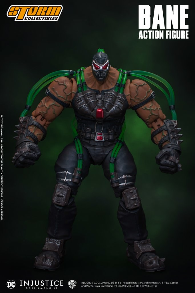 「新增官圖&販售資訊」攝入Venom藥劑後的狂暴姿態再現!! Storm Collectibles《超級英雄:武力對決》班恩 Bane 1/12 比例可動人偶