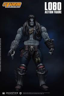 活躍於宇宙的狂暴賞金獵人! Storm Collectibles《超級英雄:武力對決》暴狼 Lobo 1/12 比例可動人偶