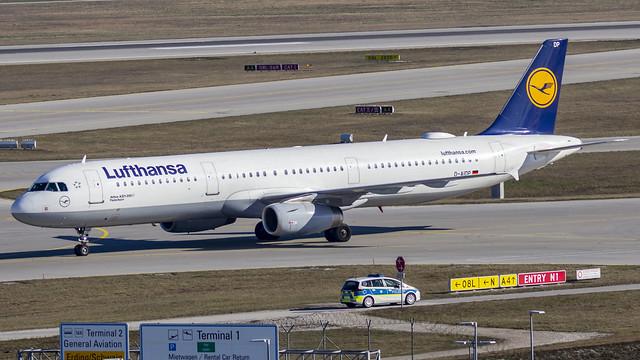 Lufthansa Airbus A321 D-AIDP