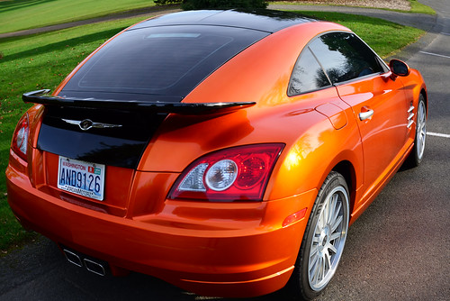 My orange car. . .