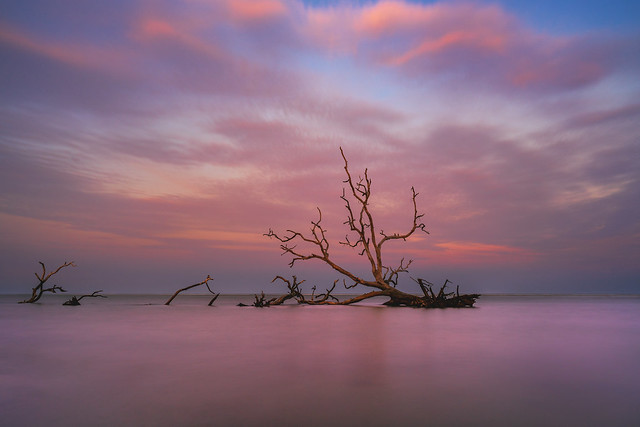 Hunting Island Sunset [EXPLORED]