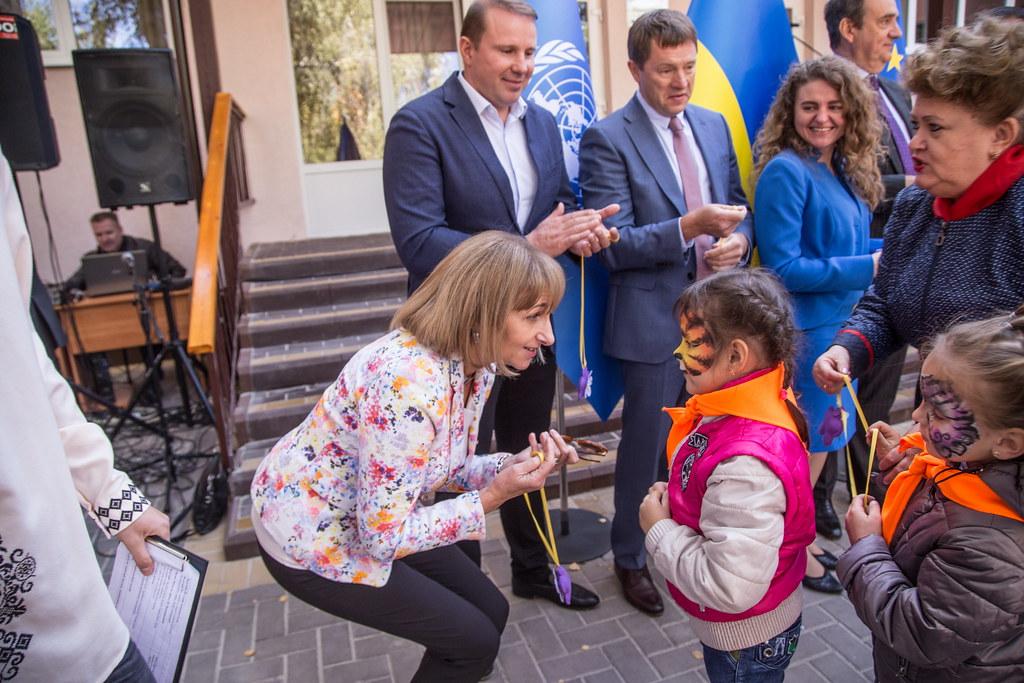 Two kindergartens open after renovation thanks to EIB, Melitopol, September 25, 2019