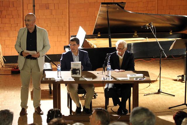 """PRESENTACIÓN DEL LIBRO """"AÑORANZAS Y SAUDADES. DESCUBRIENDO AL MÚSICO PEDRO BLANCO"""" DE JOSÉ A. MARTÍNEZ-PEREDA - RECITAL DE JULIA FRANCO, PIANO - 32 FESTIVAL DE MÚSICA ESPAÑOLA DE LEÓN - 25.9.19"""