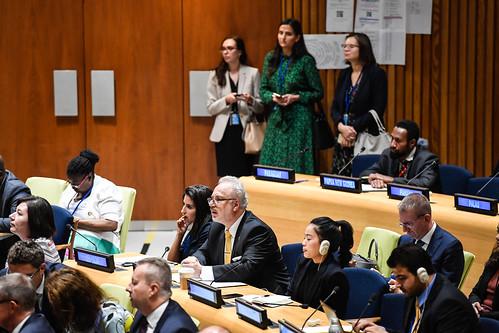 Valsts prezidenta Egila Levita dalība ANO Ilgtspējīgas attīstības sesijā