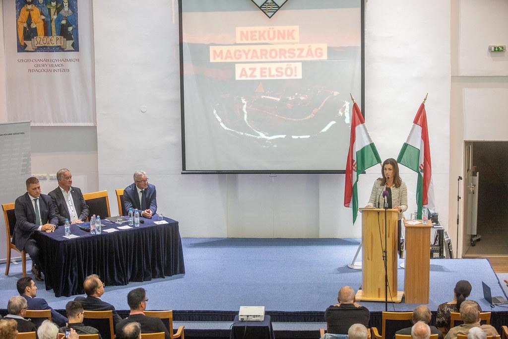 Varga Judit igazságügyi miniszter is megnézte Nemesi Pált
