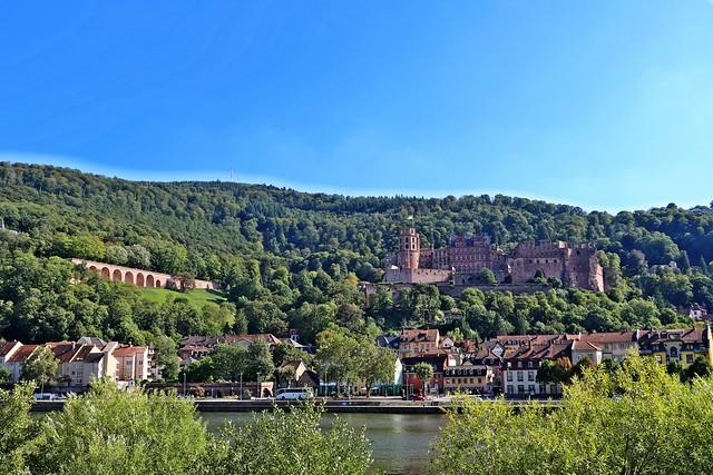 Heidelberg Schloss und Altstadt