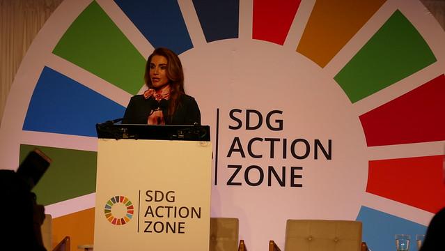 Queen Rania of Jordan_SDG Action Zone 2019