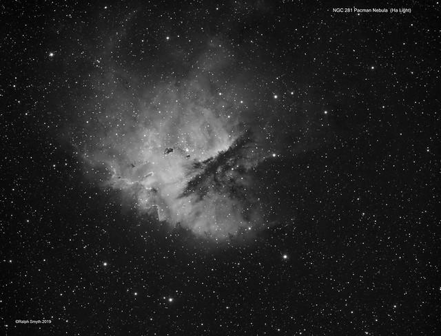 NGC 281 Pacman Nebula In Ha Light