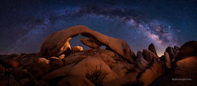 Arch Rock, Joshua Tree National Park, CA