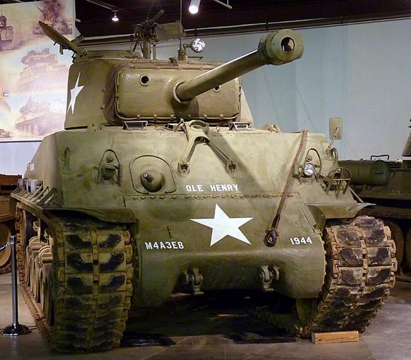 M4A3E8シャーマン1