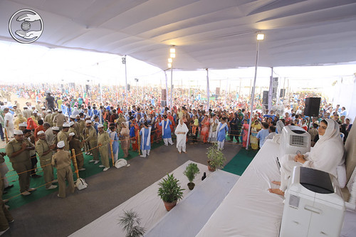 A view of Samagam during congregation