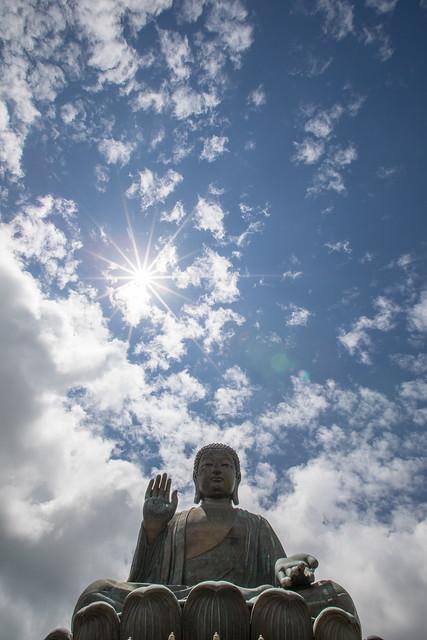 High Five, Big Buddha, Hong Kong